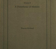 A Disturbance of Memory