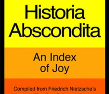 Historia Abscondita (An Index of Joy)
